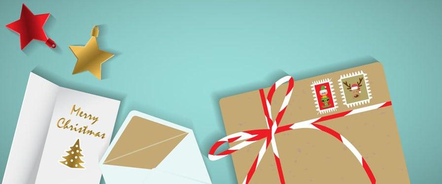 3 Tipps für Weihnachtspost, die gut bei Deinen Kunden ankommt